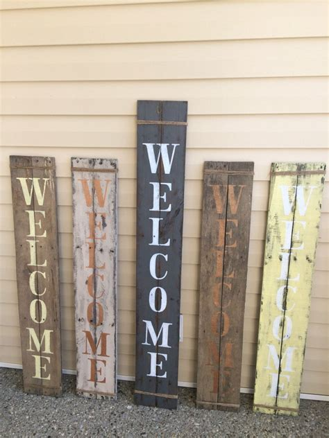 Skyrim Sign Wood Pallet rustic verticle porch welcome sign pallet wood handpainted jute wrap welcome wood sign
