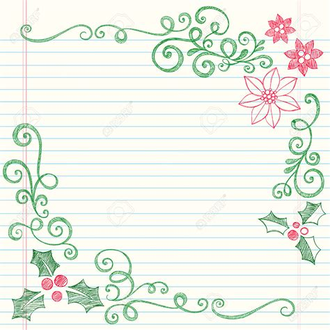Lukisan Doodle A4 Colour Tidak Background Frame pretty swirly borders for paper www pixshark images galleries with a bite
