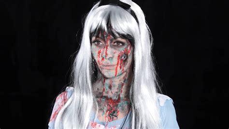 zombie tutorial liquid latex fairytale zombie tutorial liquid latex make up tutorial