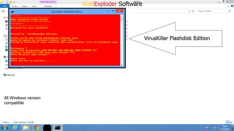 membuat antivirus sederhana viruskiller antivirus sederhana buat flashdisk menghapus