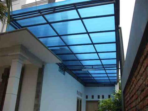contoh foto atap kanopi rumah minimalis eksterior rumah