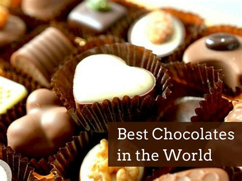 the best chocolate in the world 10 destinations with the best chocolate the best