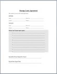 warehouse lease agreement template warehouse lease agreement template