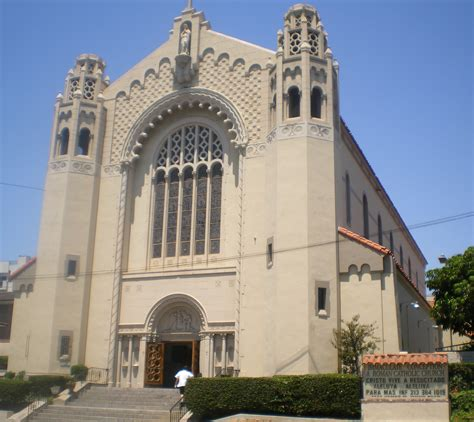 catholic wedding churches in los angeles file immaculate conception catholic church los angeles jpg