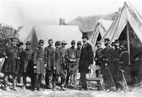 lincolns of war u s president abraham lincoln with union troops antietam