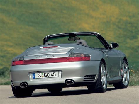 porsche carrera 911 4s porsche 911 carrera 4s cabriolet 996 specs 2003 2004