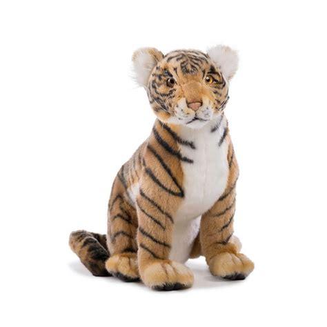 tigre seduta hansa creation peluche 4263 cucciolo tigre seduta 31cm