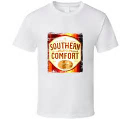 southern comfort whisky distressed aged look t shirt