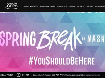 The View Spring Cash Sweepstakes - the 2016 nashville spring break sweepstakes