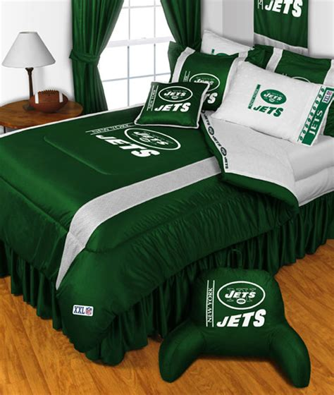 new york jets twin comforter set 2pc nfl football team