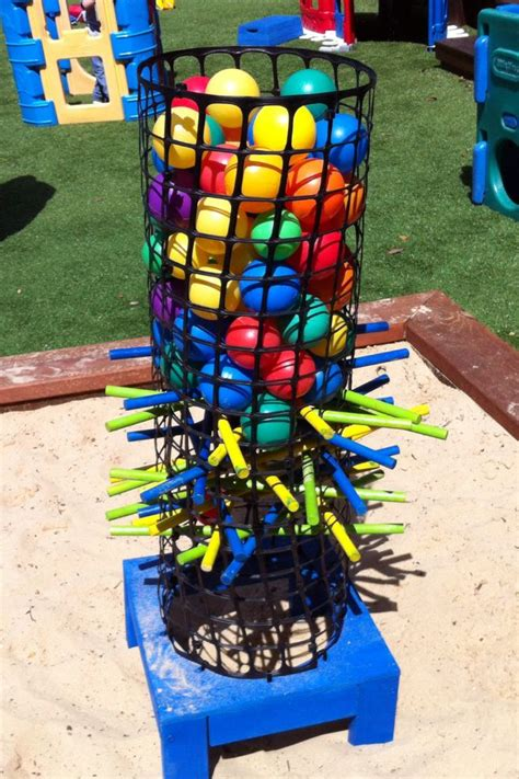 backyard kerplunk game large kerplunk game backyard game about 1m tall my