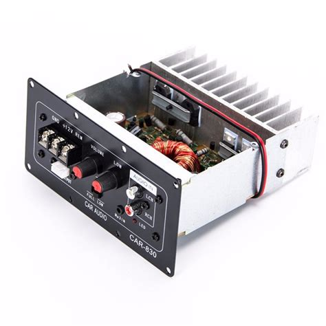 Sale Audio Mobil Fusion 4 Lifier Instalation Kit Ac Ak04e 12v hight power subwoofer audio lifier board fits for car 10 inch speaker sale banggood