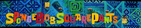theme song spongebob theme1 stitch