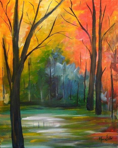 acrylic painting ideas fall 661 best paintings images on painting