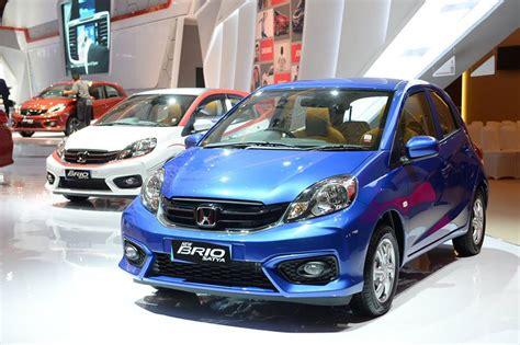 Honda New Brio Satya new honda brio satya kini punya transmisi cvt carvaganza