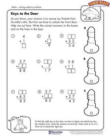 free coloring pages of 4th grade math worksheets