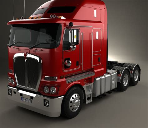 kenworth models kenworth k200 tractor truck 2010 3d model hum3d
