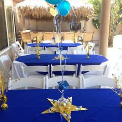 blue and gold graduation decorations the world s catalog of ideas