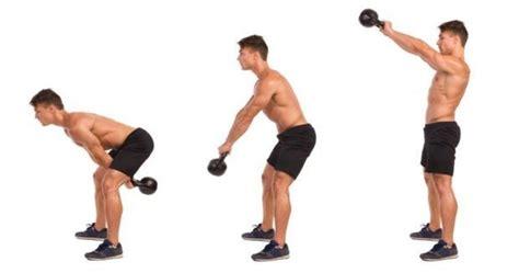 correct kettlebell swing two arm kettlebell swing illustrated exercise guide