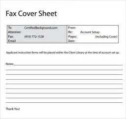 professional cover sheet sle fax cover sheet 9 exles format