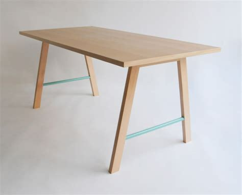 minimal table design vibrant furniture accessories collection by colonel