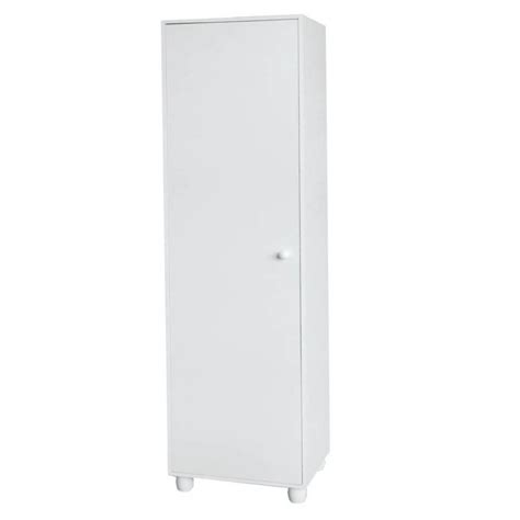 Storage Cabinet White by Home Source 1 Door Storage Cabinet White By Oj Commerce