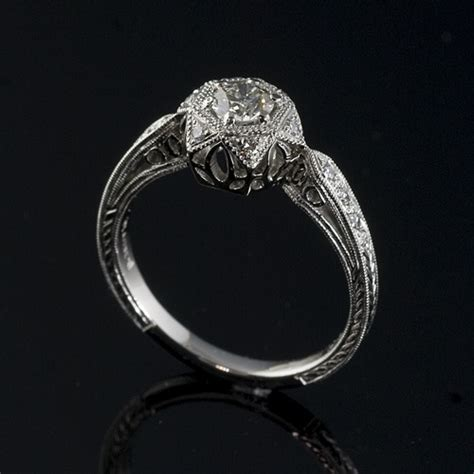17 best images about antique style engagement rings on