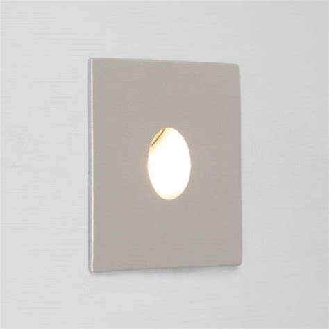 Recessed Led Bathroom Lighting Square Silver Recessed Wall Light Ip65 For Bathrooms Low Energy Led