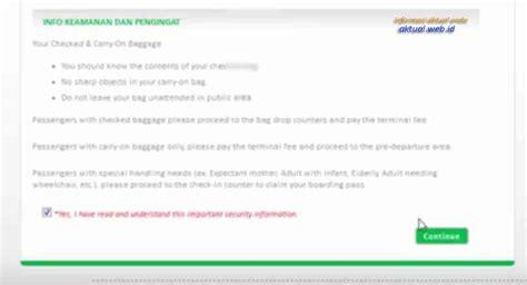 citilink web check in cara terbaru web check in citilink online informasi aktual