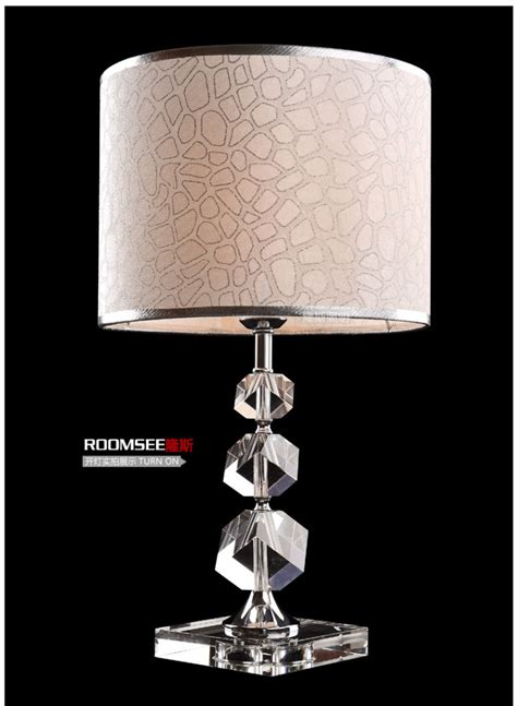 Livingroom Table Lamps by 220v Only 2015 K9 Crystal Table Lamps For Living Room