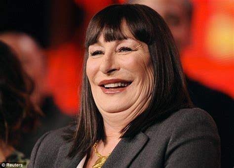 images of neckline haircut on fat women anjelica huston 61 is the latest pillow face victim as