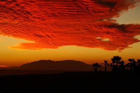 Imagenes De Nubes Rojas   nubes rojas fotos de varias