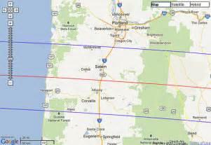 map of oregon total eclipse solar eclipse total 2017 oregon flickr photo