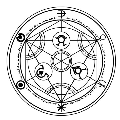 transmutation circle tattoo human transmutation circle large remove text