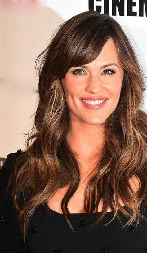 20s hairstyle for long hair and bangs 20 best long bangs long hair hairstyles haircuts 2016