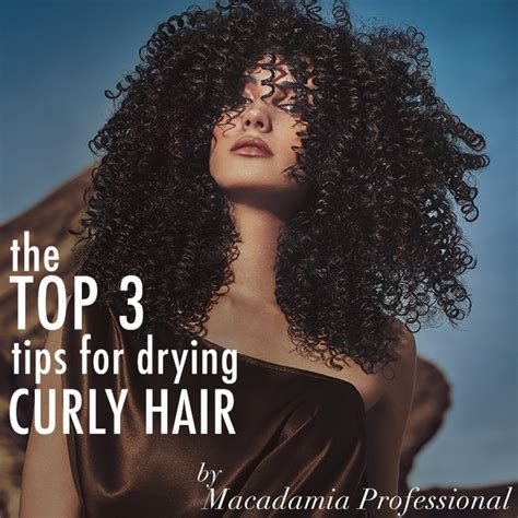 Best Hair Dryer For Curly Hair Australia the top 3 tips for drying curly hair bangstyle