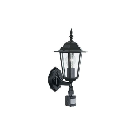 country cottage black motion sensor outdoor wall light black outdoor wall light with sensor vaxcel lighting