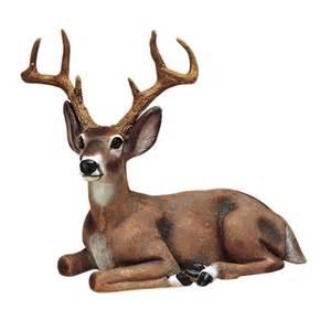buck male deer garden statue outdoor animal lawn decor ebay