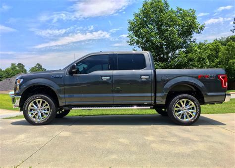 f150 show truck show me your leveled trucks with oem rims page 26