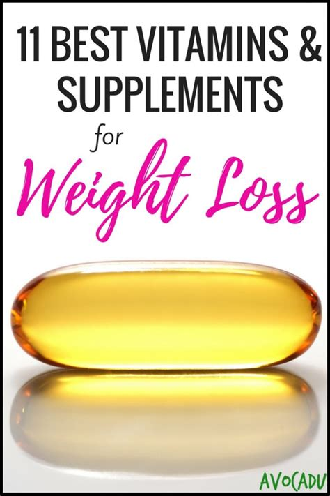 best vitamins to take 11 best vitamins and supplements for weight loss avocadu