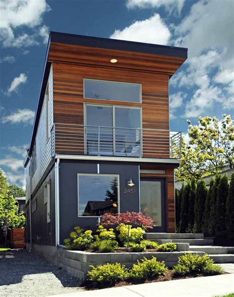 House Plan For Narrow Lot by The Skinny A 12 Foot Wide House In Seattle Living