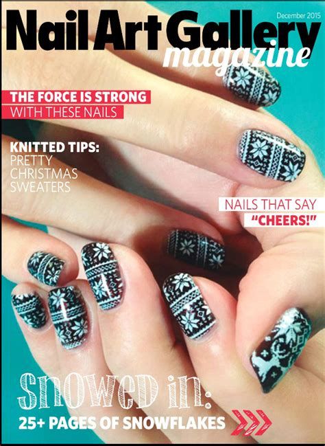 Nail Magazine by December Nail Gallery On Line Seriously Nails
