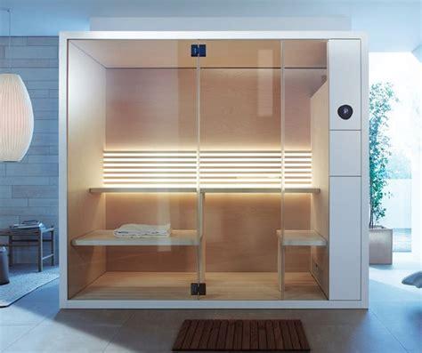 bagno per casa sauna compatta una piccola spa nel bagno di casa wellness