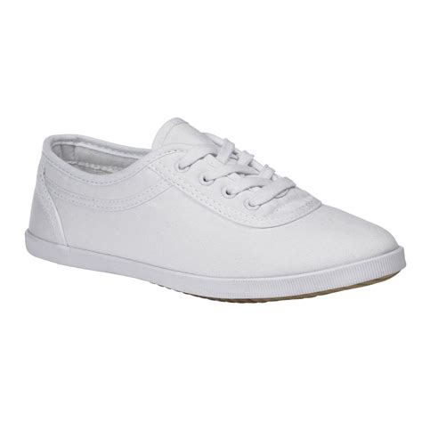 s white canvas lace oxford sporty comfort classic