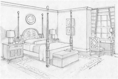 dream bedroom sketch bedroom ideas pictures