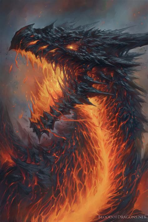 blood of dragons lavaborn by tylerwalpole on