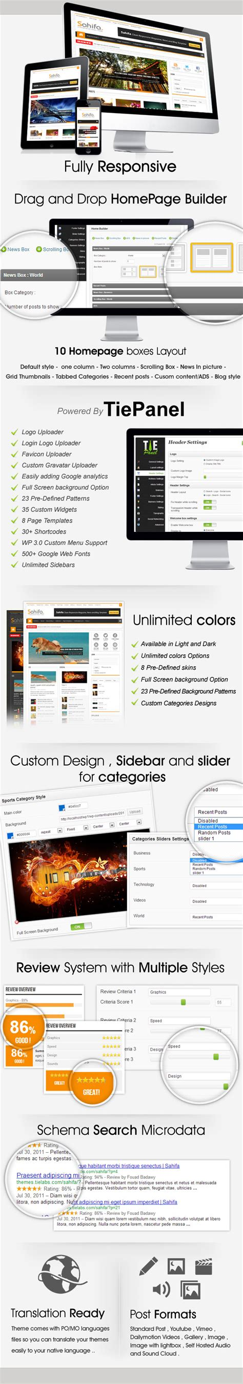 wp content themes sahifa zip sahifa wordpress magazine responsive theme review