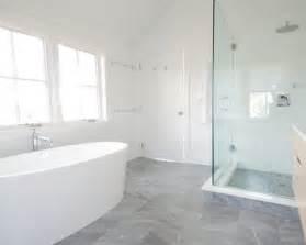 Light Grey Bathroom Tiles Designs 37 Light Grey Bathroom Floor Tiles Ideas And Pictures
