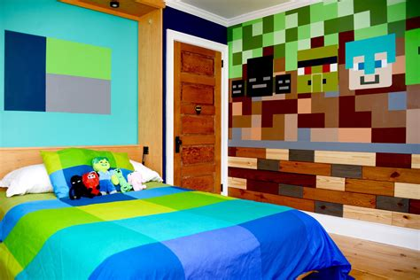 Real Minecraft Bedroom by How Syp Brought A Minecraft Inspired Bedroom To