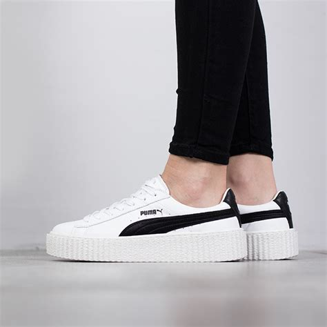 Fenty By Rihanna Size 37 40 1 s shoes sneakers creeper x fenty by rihanna quot white black quot 364462 01 best shoes